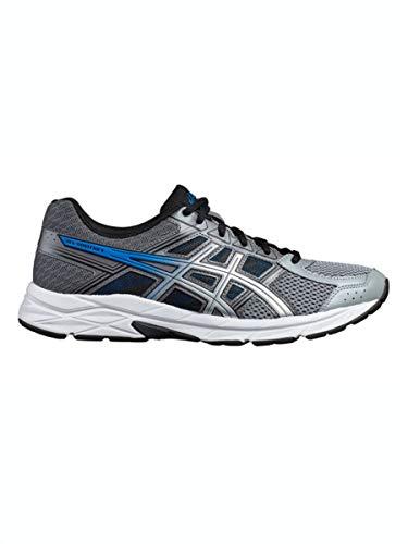 Asics Running Gel Contend 4, Zapatillas de Deporte para Hombre, Azul (Deep Ocean/Silver 400), 46.5 EU