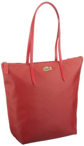 Lacoste  Women Handbag,  Borsa shopper donna, Rosso (Rot (BAOBAB USED 055)), 27x35x14 cm (B x H x T)