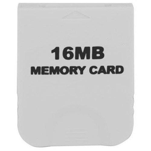 128mb 64mb Flash (16MB Speicherkarte Weiß für Nintendo Wii & Gamecube)