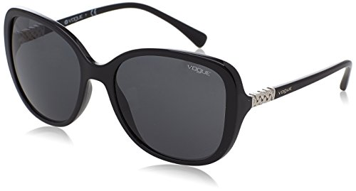 Vogue Eyewear Damen 0VO5154SB W44/87 56 Sonnenbrille, Schwarz (Black/Grey),