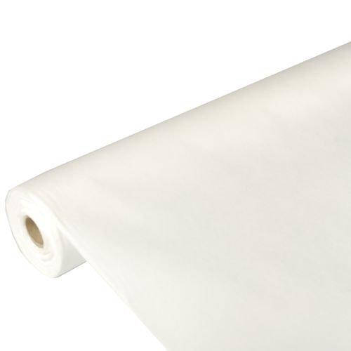 """Papstar Tischdecke / Tischtuchrolle weiß """"Soft Selection"""" (1 Stück) 25 x 1.18 m aus Vlies, stoffähnlich, 100% recyclebar, wasserabweisend, für Haushalt und Feste, #82346"""