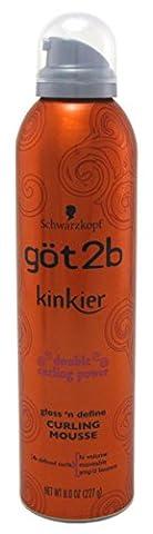 Got 2B Kinkier Curling Mousse 8oz (6 Pack) by Got 2B