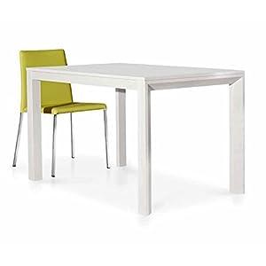 Table 45blanc frêne 130 x 85 h. 77