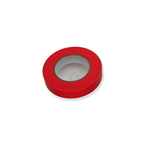 Créative Régie - Klebstoff Permacel Papier Rouge Mat 25mm x 55m