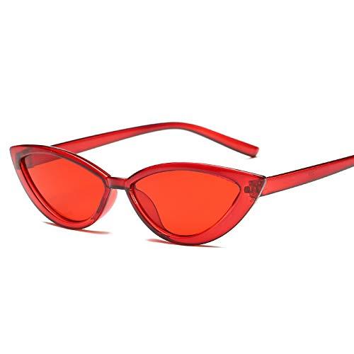 JYTDSA Transparente Sonnenbrille Frauen Brille klaren Rahmen Trendige weibliche Sonnenbrille UV400