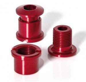 XLC 2502840007 Kettenblattschraube, rot, 6 x 6 x 3 cm