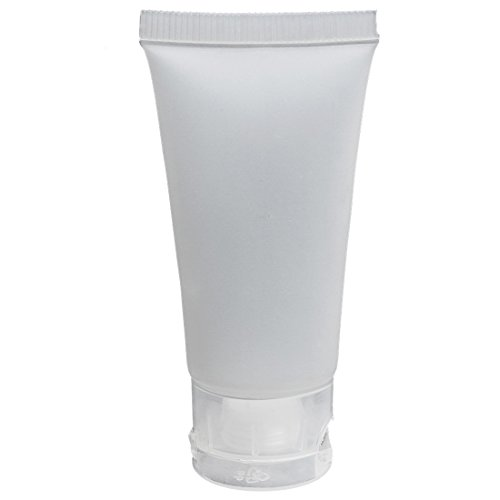 emulsion bouteille - TOOGOO(R)5pcs Flacon vide bouteille transparent pour emulsion creme 15ml