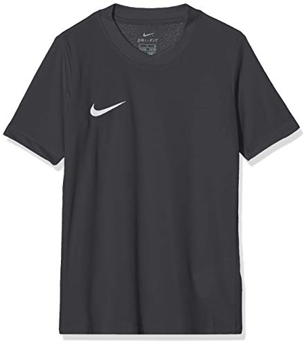 Nike Kinder Park Vi Trikot T-shirt, 725984-010 ,Schwarz (Black Mat/White), M