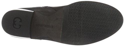 Gerry Weber Padua 01, Bottes courtes avec doublure chaude femme Noir - Noir
