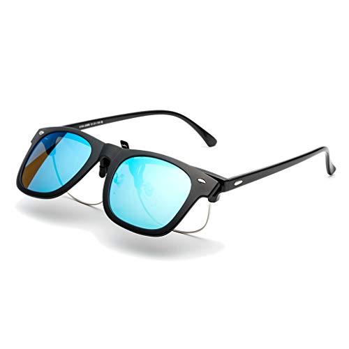 LDY Unisex polarisierte Aluminium Sonnenbrille, Vintage Sonnenbrille für Männer/Frauen