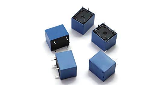 Mini 12V DC Power Relay SRD-12VDC-SL-C PCB Type Single Item pack of 5
