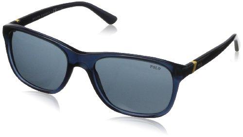 Polo ralph lauren ph4085, occhiali da sole unisex-adulto, blau (blue 527687), taglia unica