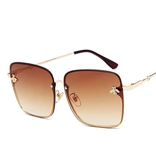 Huanxin Polarisierte Fahren Sonnenbrille 100% UV400-Schutz, Al-Mg Metall Rahme Ultra Leicht Sport-Sonnenbrille, für Frauen und Männer Radfahren Golf Angeln Laufen,f