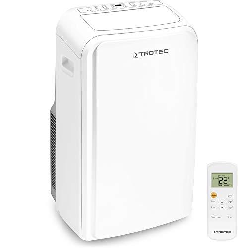 TROTEC Lokales Klimagerät PAC 3500 SH mobile 3,5 kW Klimaanlage 4-in-1-Klimagerät zur Kühlung Klimatisierung und Heizung 2,9kW [EEK A]