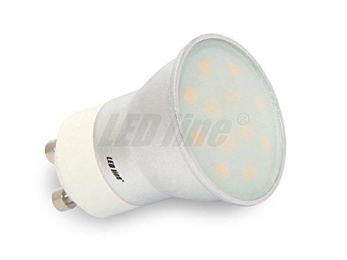 GU10 GU11 12SMD LED Lampe Leuchte Strahler GU11 3W 12SMD CCD (5630) LEDs 230V DC mit schutzglass Kaltweiß 170 Lumen 170 Lumen-led
