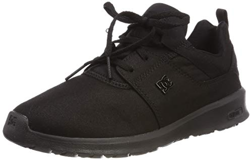 DC Shoes Damen Heathrow TX SE Skateboardschuhe, Schwarz (Black 001), 39 EU (Schuhe-sport-dc Frauen)