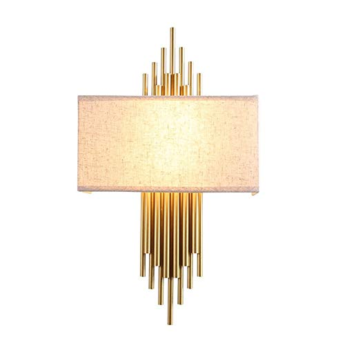 Niceamz Led Wandleuchte Light Innenwandleuchte Modernes Design Warmweiß Einstellbarer Lichtwinkel Dimmbar Für Schlafzimmer, Wohnzimmer, Flur , Licht (Energieklasse A + +) -