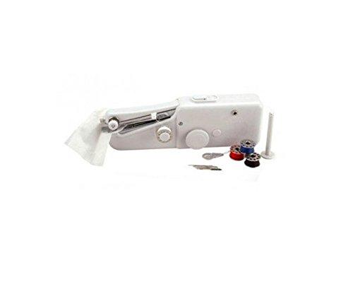 haoyis Hang Mini portátil inalámbrico einzelheftung plástico de grapas manual máquina de coser doméstica Viaje