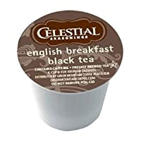 Celestial Seasonings English Breakfast Black Tea for Keurig Brewing Systems, 2 Packs of 24 K-Cups