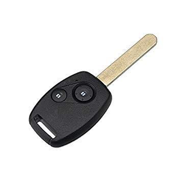 VISTARIC 2 Tasten Remote Key Fob Fall Shell mit ID-46 Chip für Honda Accord Fit Civic