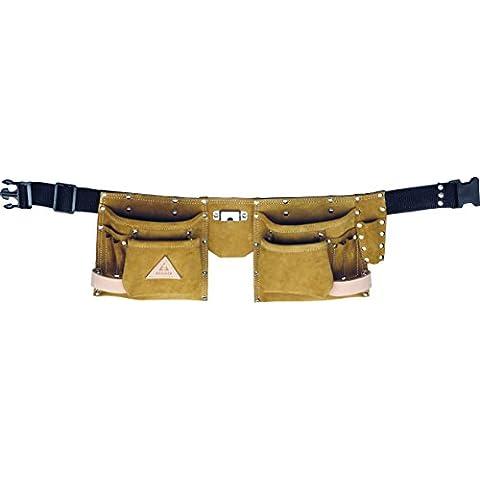 Bellota 51308 - Cinturón portaherramientas de piel para encofrador