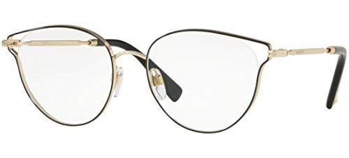 Valentino Brillen VA 1009 BLACK PALE GOLD Damenbrillen