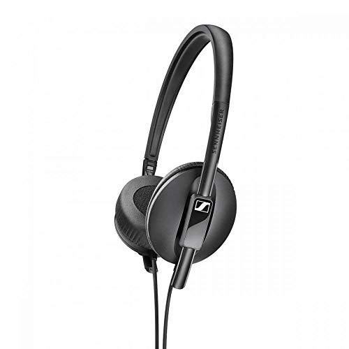 Sennheiser hd 100 cuffia stereo sovraurale, leggera, richiudibile, nero