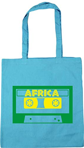 HippoWarehouse Música África Bolso de Playa Bolsa Compra Con Asas para gimnasio...