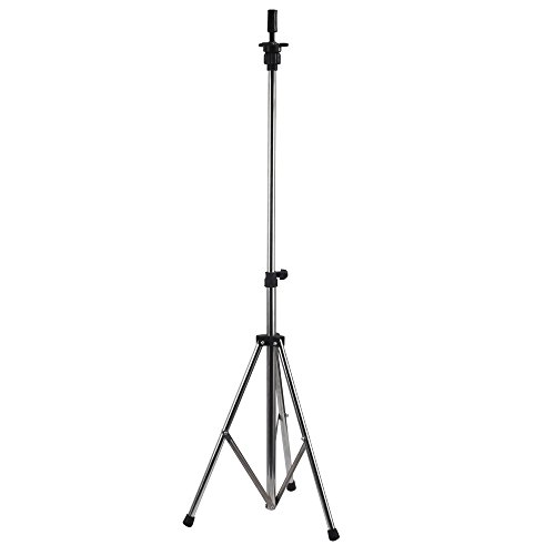 Neverland Beauty Aluminum Metal Adjustable Tripod Stand Holder For Hairdressing Training Head Mannequin Head With Carry Bag Test