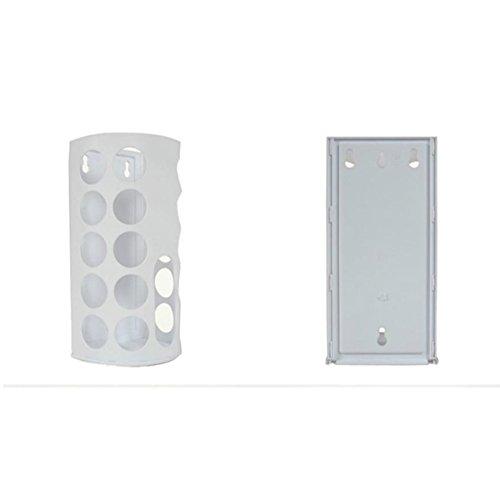 Trash Rack Tasche Halter Aufbewahrungsbox Kunststoff Aufbewahrungsbox Müllsäcken Collection Box, weiß (Collection Box Vertikale)