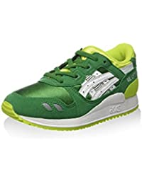 Infantiles-zapatillas GEL-PS-V LYTE C5A5N 7990, color verde