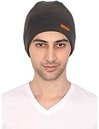 FabSeasons Unisex Fleece Winter Skull/Helmet Cap