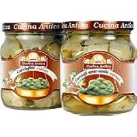 Cucina Antica - Alcachofas - Caja con 6 tarros de 280 g cada uno