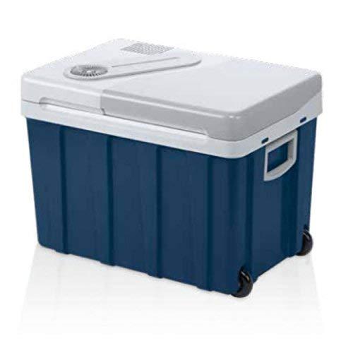 Mobicool 9105302773 Frigo PortatileTermoelettrico W40 AC/DC, 12/230 V, Blu (Metallic Blue),  39 L