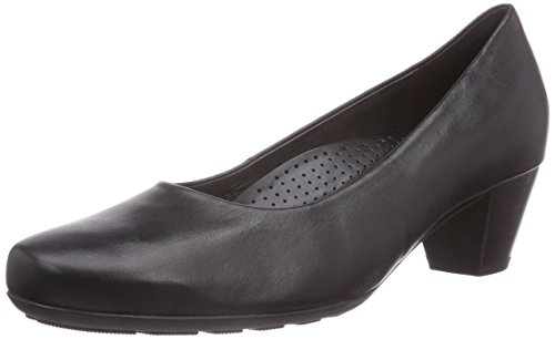 Gabor Shoes Comfort Fashion, Damen Pumps, Schwarz (Schwarz 57), 38.5 EU (5.5 Damen UK) (Bequeme Schwarz)