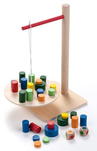 Engelhart - Jeu en bois d'équilibre la balancelle - 340916