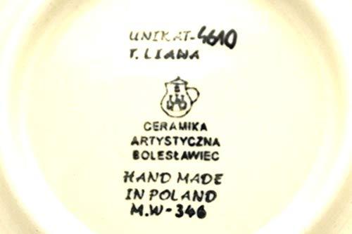 Polish Pottery Plate – Salad/Dessert (7 3/4″) – Unikat Signature U4610