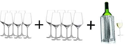 PfalzDeko AKTIONS-Paket 2er Pack! 6X Schott Zwiesel Weinglas Taste Weißwein + 6X Schott Zwiesel Weinglas Taste Rotwein
