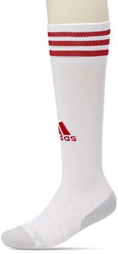 adidas Kinder Adi Sock 18 Fußballsocken, White/Power Red, 23-26