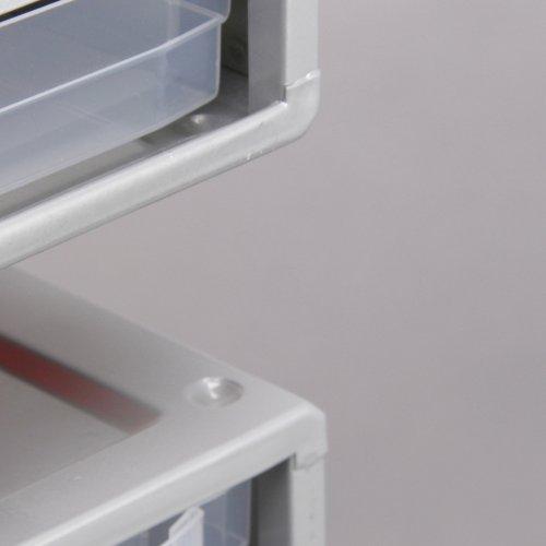 Kleinteilemagazin Allit VarioPlus Depot 17 tlg. Metall inkl. Trennstege - 7