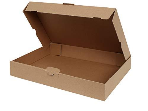 50 Maxibriefkartons 350 x 250 x 50 mm | Maxibrief DIN A4 geeignet für Warensendung mit DHL | wählbar 25-1000 Versandkartons