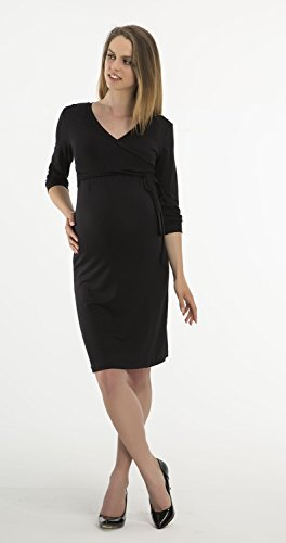 yeset - Robe spécial grossesse - Femme S/M Schwarz