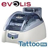 Kartendrucker Evolis Tattoo2 RW, USB, Ethernet, MSR, Contactless, Thermodirekt, inklusive: Magnetkartenschreiber, Kartenzuführung, Contactless Station, Kabel (USB), Netzteil, Netzkabel (EU), Card Designer Std. (Demo)