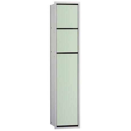 EMCO WC-Modul ASIS 150 Unterputz chrom/optiwhite