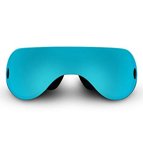 ZUEN Augenmassagegerät verlangsamt Physiotherapie-Sehkraft-Brillen, grünes Augenmassagegerät/ABS/Grün