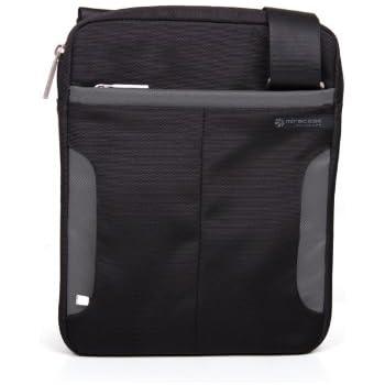 5161565ff5 Miracase NH-1299GRY - Borsa a tracolla con bordature in grigio per iPad