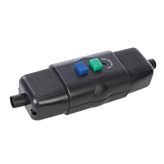 in-Line Active Outdoor RCD 16A 230V~ 50Hz Active (Non-Latching) Inline 16A/3600W Residual Current Device (RCD) to Prevent Electric Shock from faulty Mains Devices or Water Ingress.
