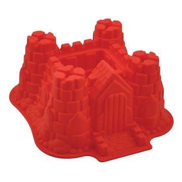 Silikon Backform XXL Burg Schloss Festung Kindergeburtstag Party 3D Kuchenform