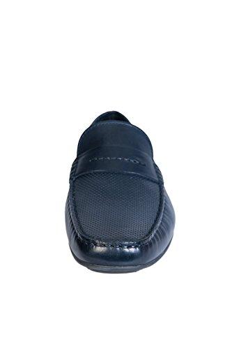 Hugo Dandy Moc Herren Schuhe Blau Blau