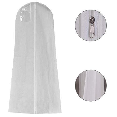 BGDRR Kleid, extra breit, Kleidung, Brautkleid, Lange Kleidung, Schutz für Hochzeiten, Staubschutz, Aufbewahrungstasche für Hochzeitskleid 160 x 80 x 22 cm. -